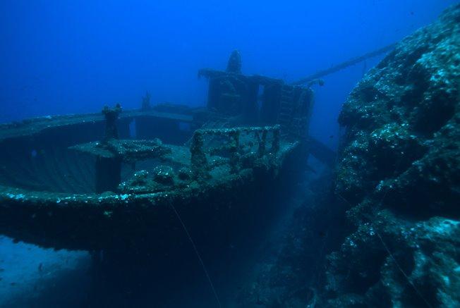 Platourada wreck